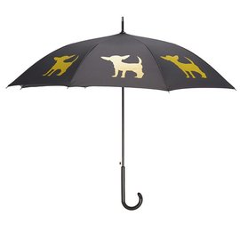 San Francisco Umbrella Chihuahua - Blk/Yellow w/sleeve