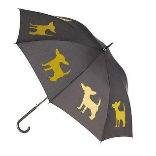 San Francisco Umbrella Chihuahua - Blk/Yellow w/sleeve