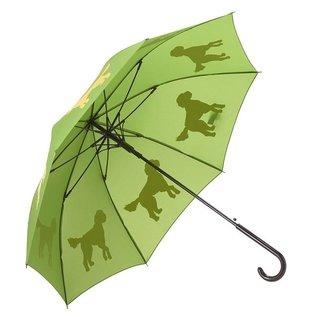 San Francisco Umbrella Doodle Umbrella - Yellow/Green