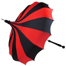 Bella Umbrella Signature Bella Custom Pinwheel Black & Red