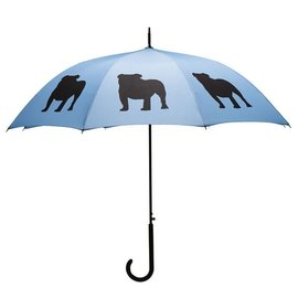 San Francisco Umbrella English Bulldog - Blue/Black
