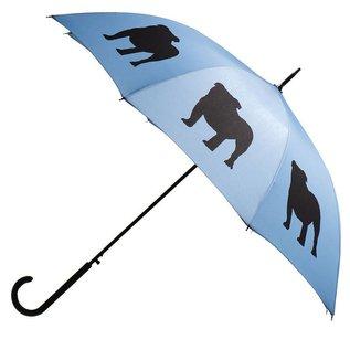 San Francisco Umbrella English Bulldog - Blue/Black