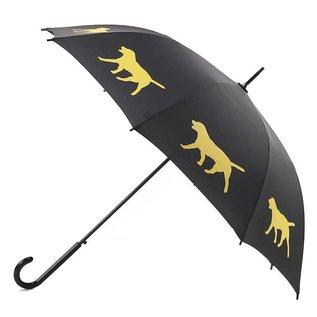 San Francisco Umbrella Labrador Retriever Black/Yellow