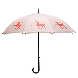 San Francisco Umbrella Unicorn Umbrella Taupe/Orange