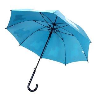 San Francisco Umbrella  West Highland Terrier - LT Blue/White