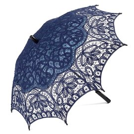 Goldenstate Lace Parasol Royal Blue