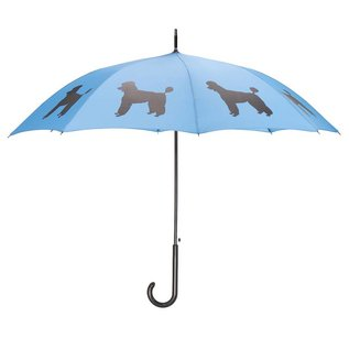 San Francisco Umbrella Poodle Umbrella - Black/Blue
