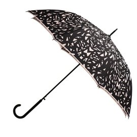 San Francisco Umbrella Butterfly Wing - Black/Taupe w/ Sleeve