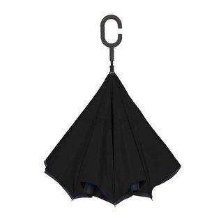 UnbelievaBrella™ Reverse Umbrella - Black/Black
