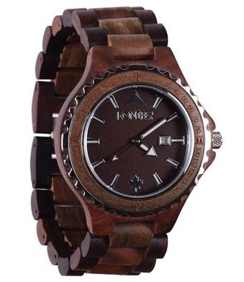 for analog minium wooden with women amexi quartz band watches ladies dp watch wood display adjustable handmade