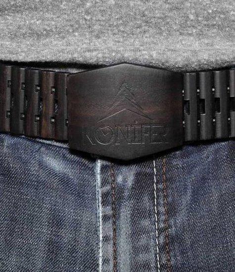 BLACK belt by KONIFER