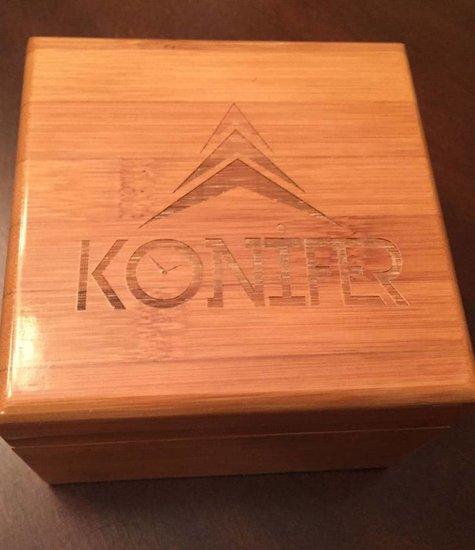Boîte cadeau en bambou Konifer