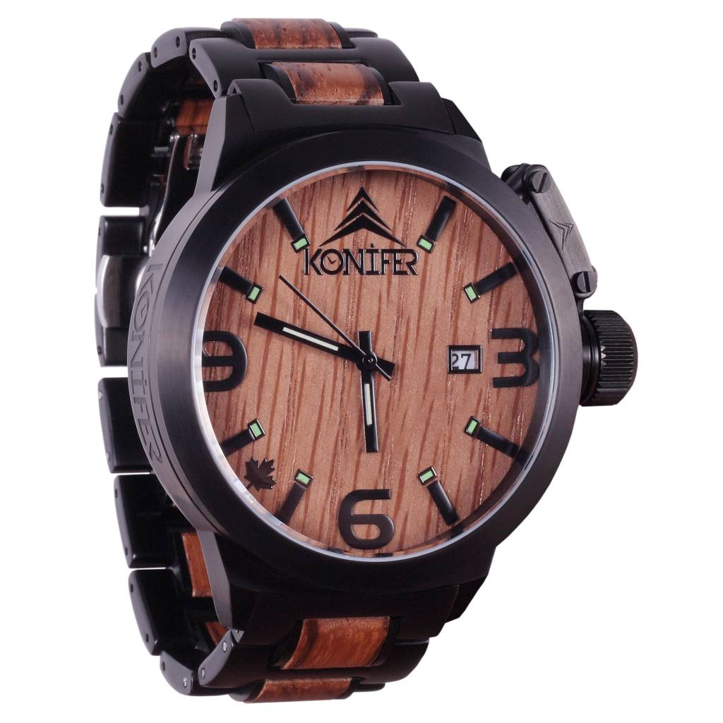 watch best zebrawood vibrant wood ebony treehutdesign pinterest all on custom watches engravings images