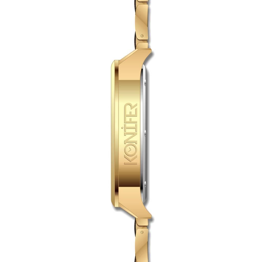 Karbon 24K Gold + Zebrawood