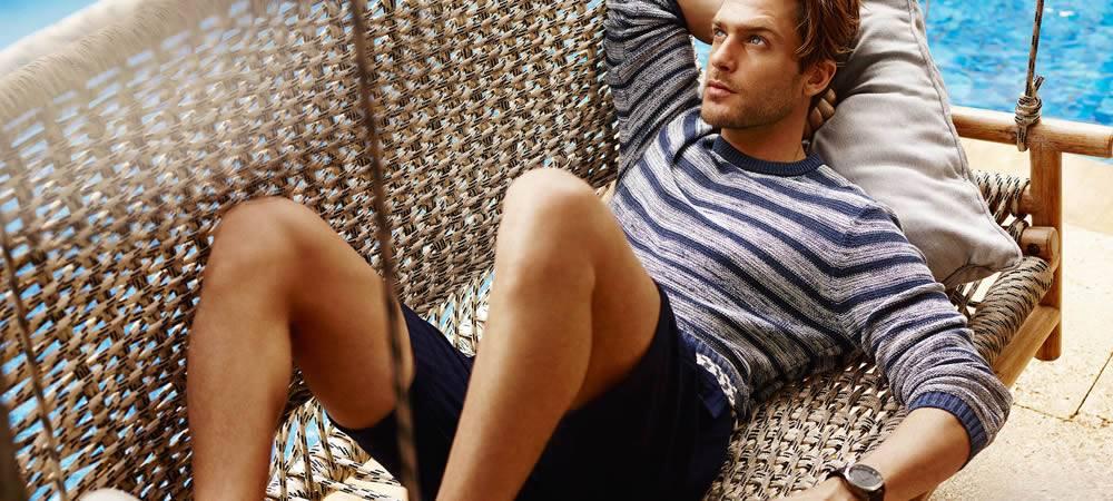 Les tendances mode masculine pour l'été 2016