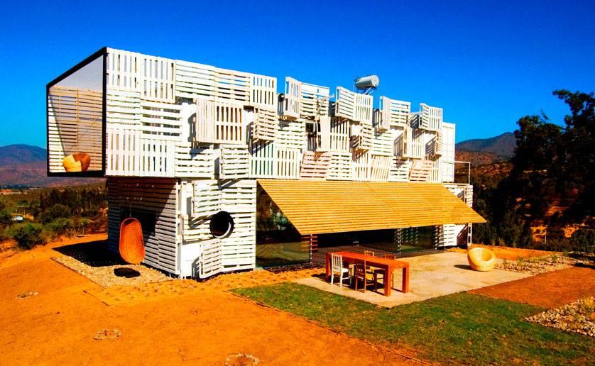Palettes de bois : 8 maisons qui réveilleront votre esprit bricoleur