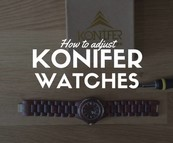 VIDEO : How to easily adjust your wooden watch