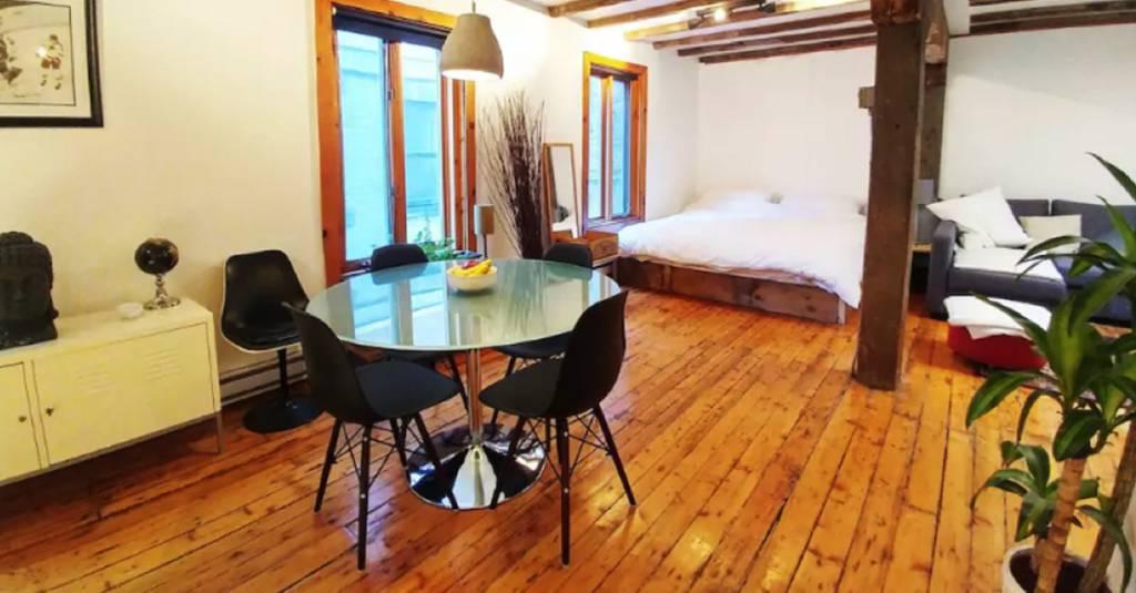 7 superbes lofts sur Airbnb, à Québec et Montréal, où le bois est à l'honneur