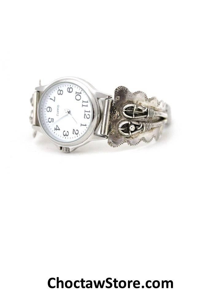 Jerry Lowman JL Silver Woman's  Watch