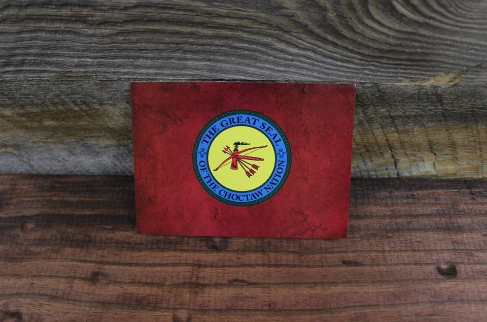 "Notecards ""Red Marble with CNO Seal"""