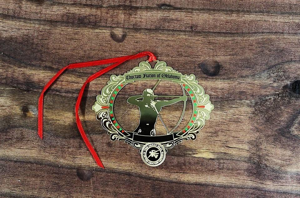 """The Red Warrior"" Tvshka Homma, 2015 Christmas Ornament"