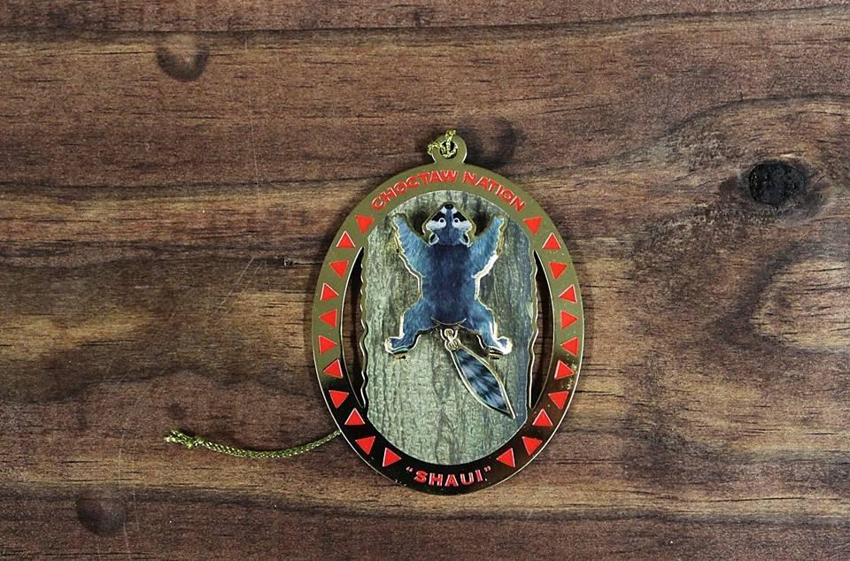 """Raccoon"" 2012 Christmas Ornament"