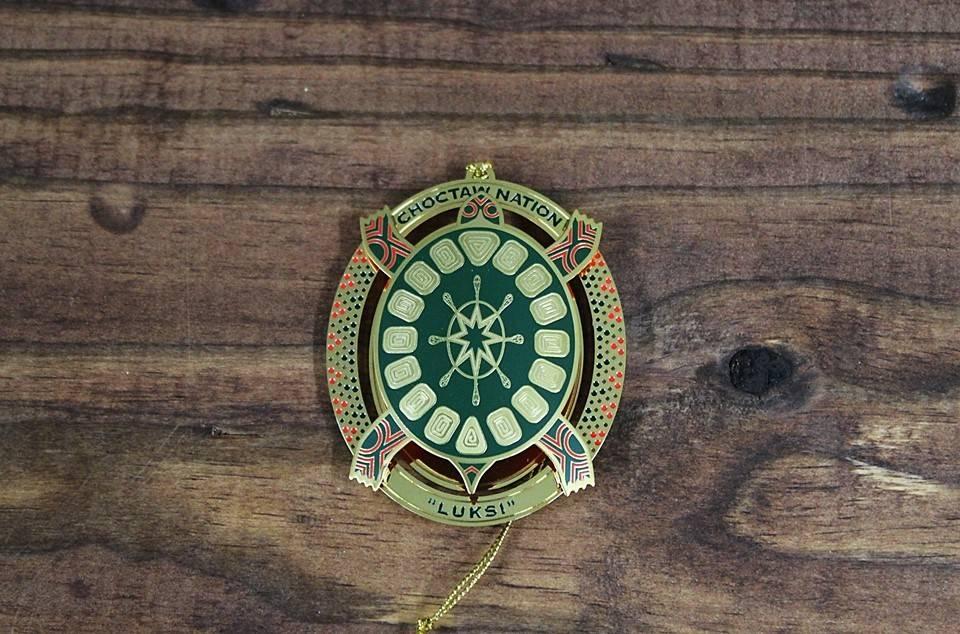 """Luksi / Turtle"" 2010 Christmas Ornament"
