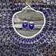 Blue & Silver Collar Set