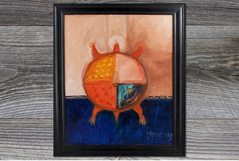 """*JU """"Luksi"""" Original Painting"""