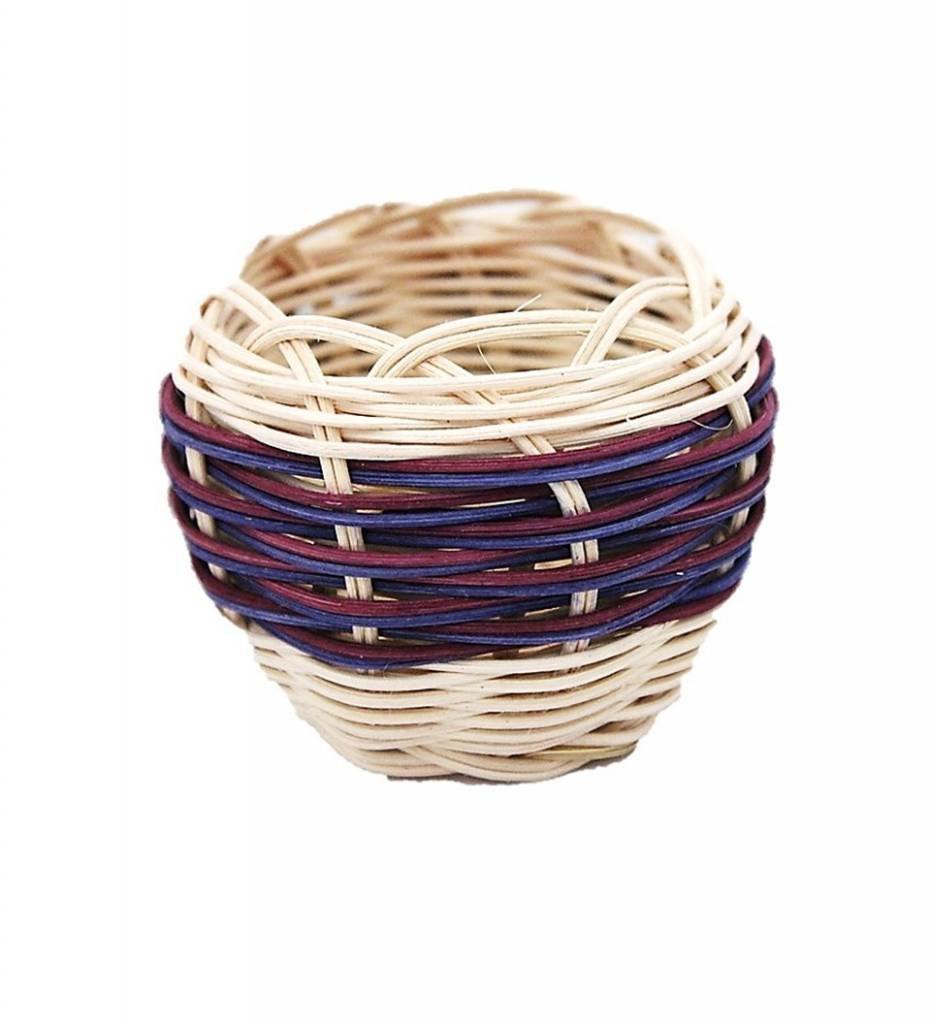 *LA Mini Handwoven Double Walled Basket