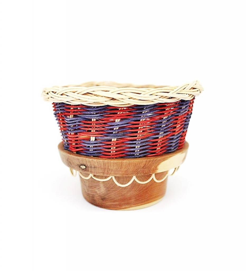 *LA Cedar Bowl Basket