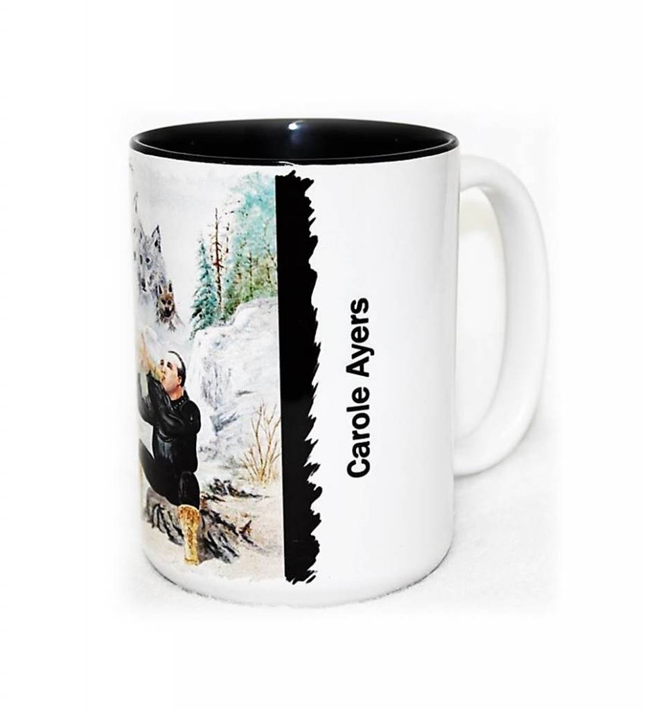 "*CA ""Song for the Spirit Wolves"" Coffee Mug"