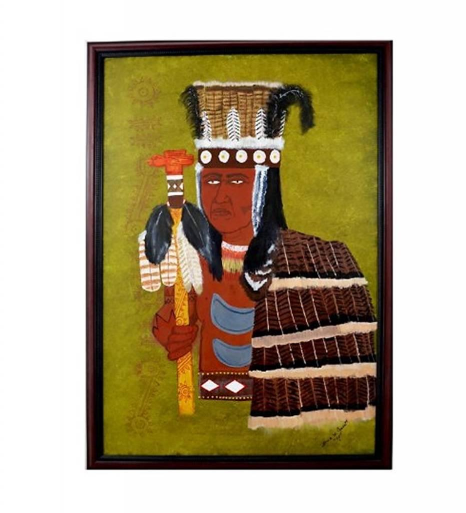 """""""Medicine Man"""" Painting FRAMED"""