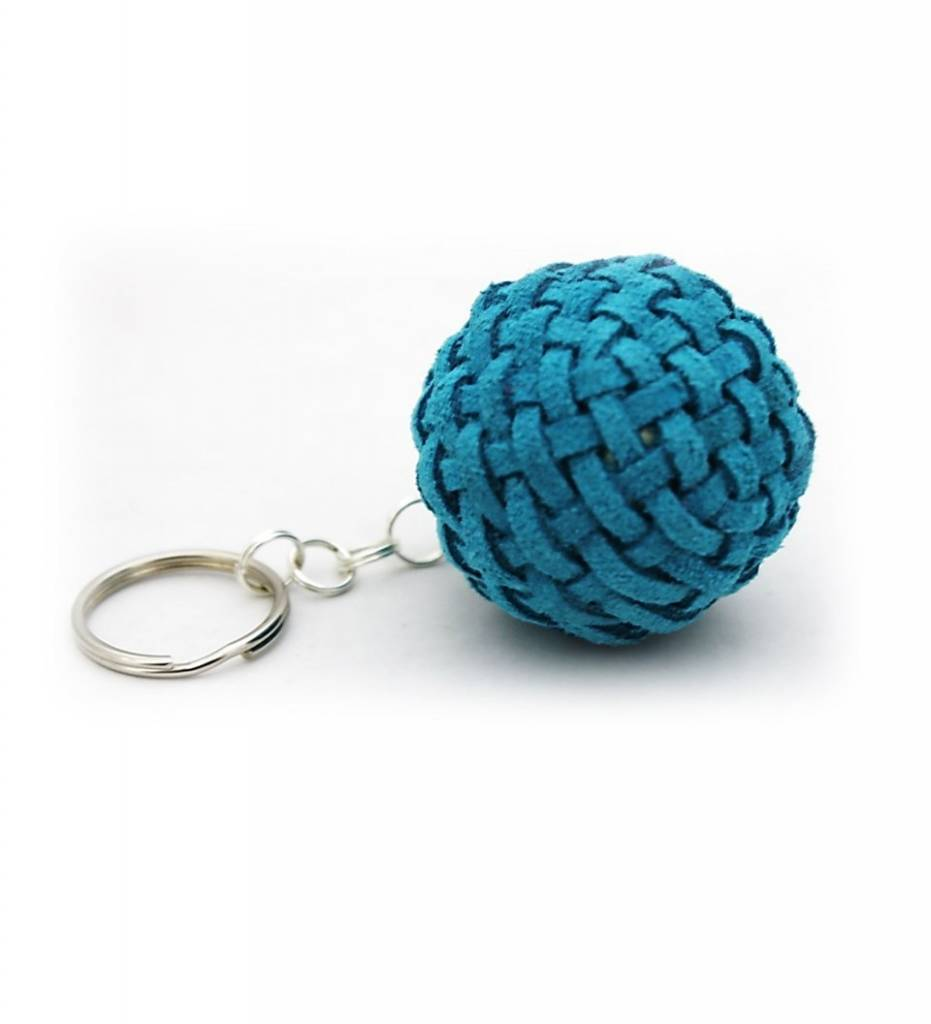 *LB Stickball Ball Keychain