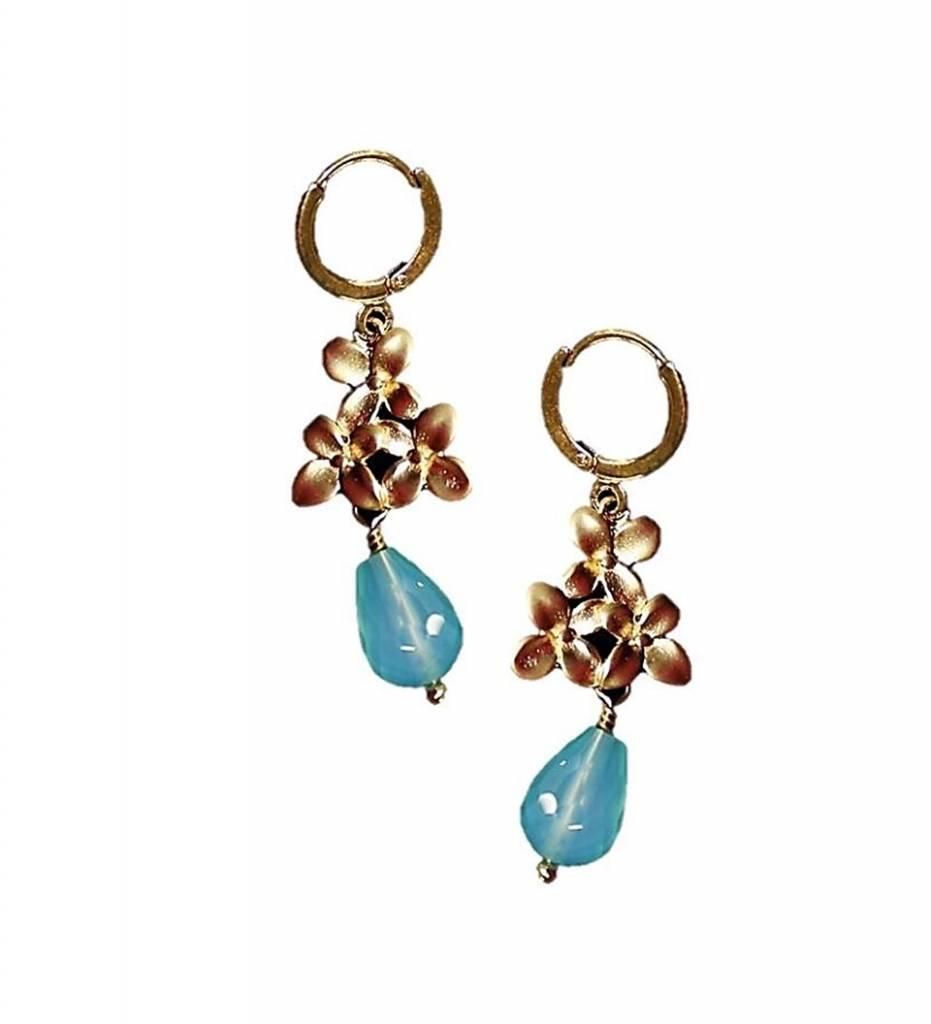 *TS Peruvian Opal Earrings