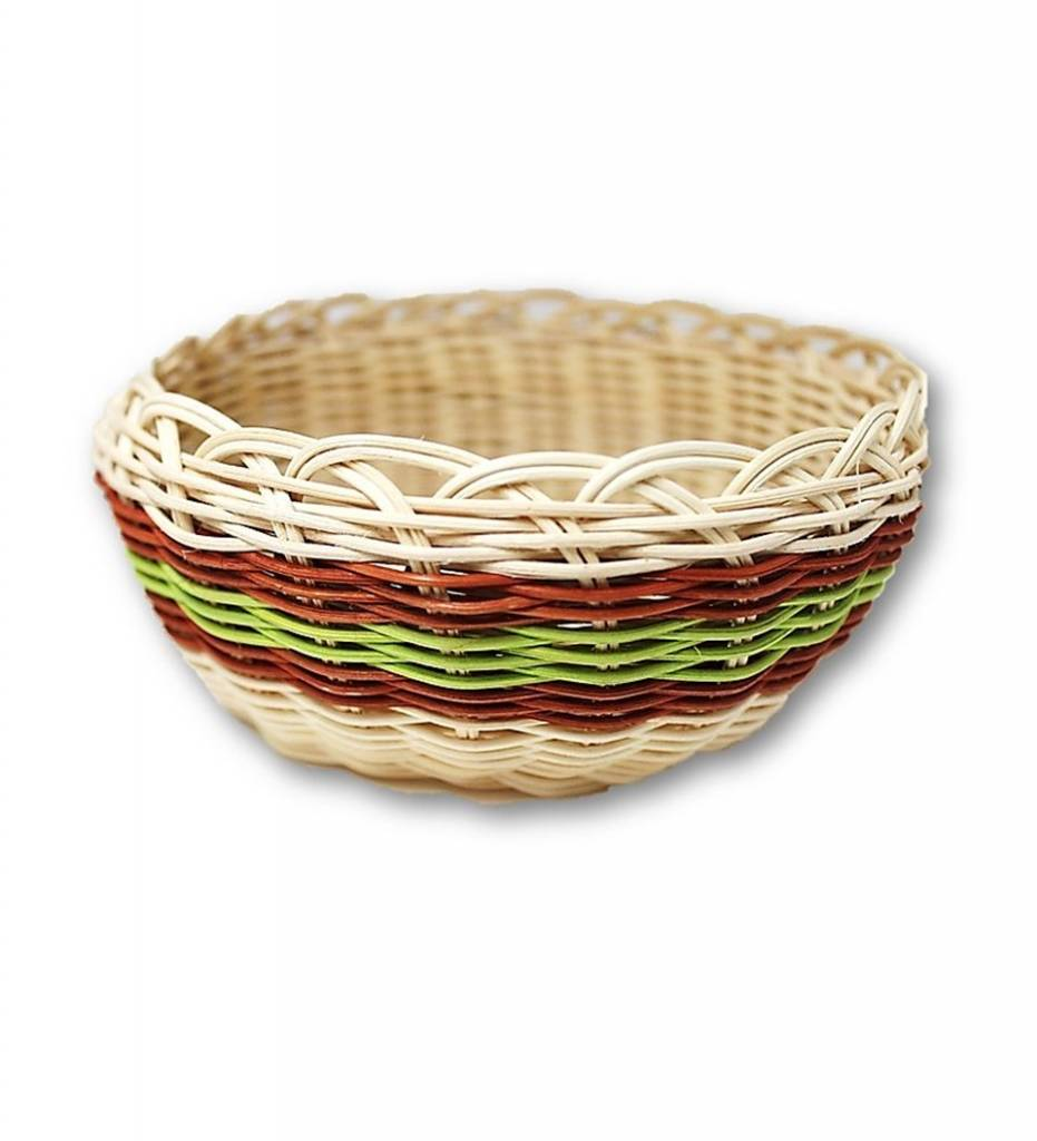 *LA Red and Green Multi Colored Basket