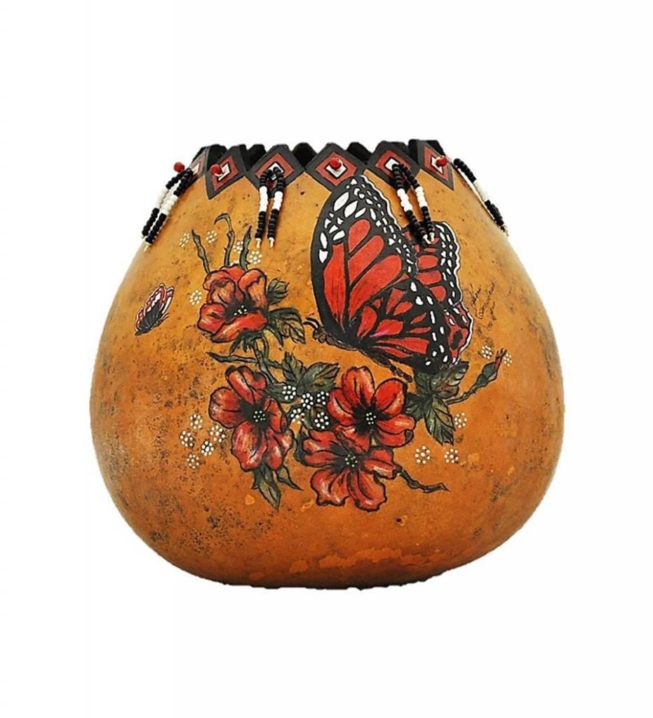 "*KB ""Bright Reds"" Gourd Artwork"