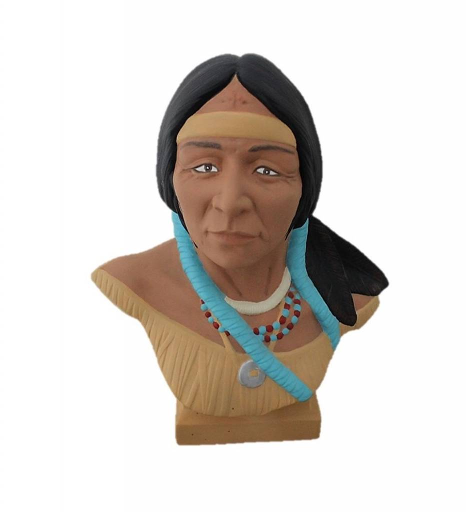 *AW Native American Female Ceramic