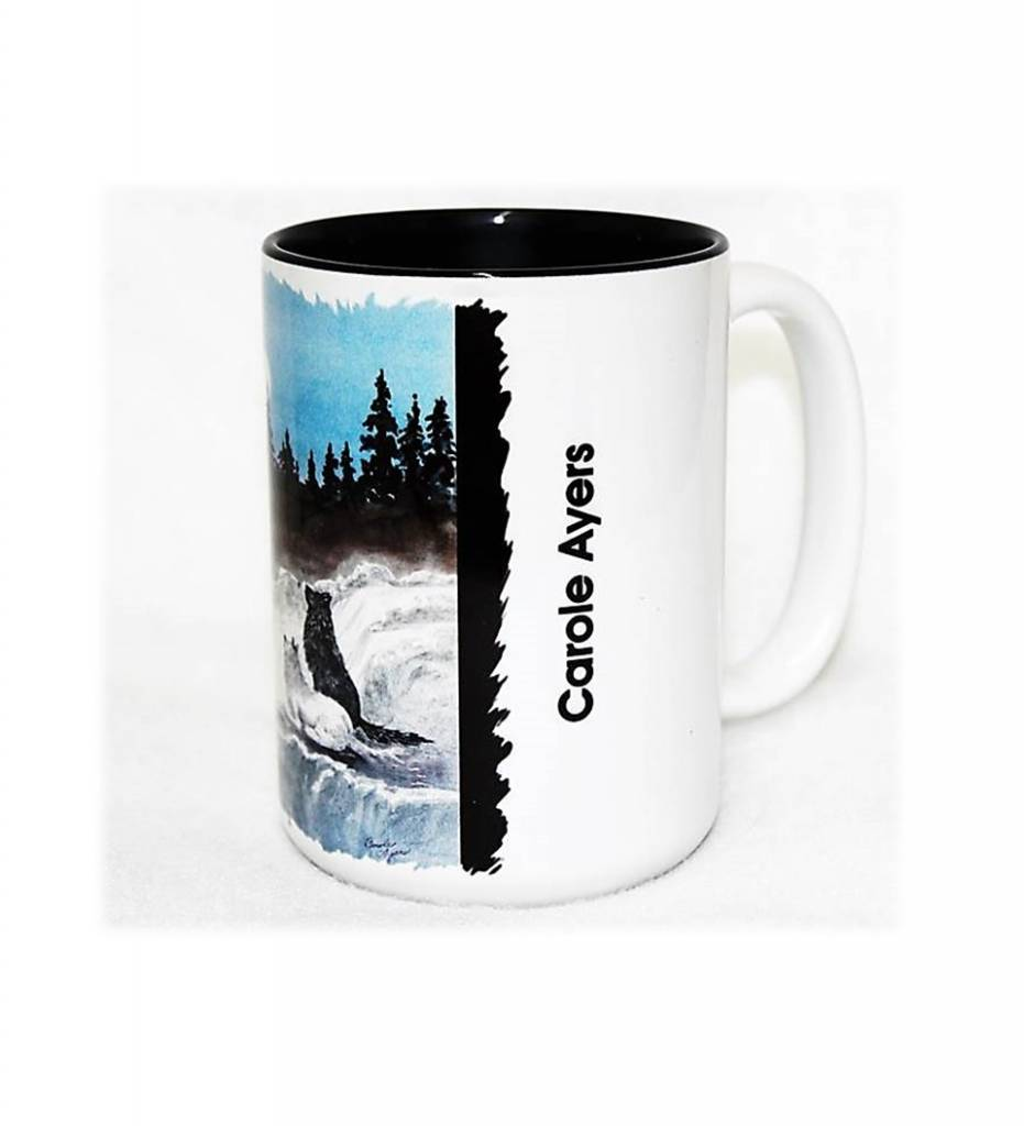 "CA ""Misty Wolf Moon"" Coffee Mug"