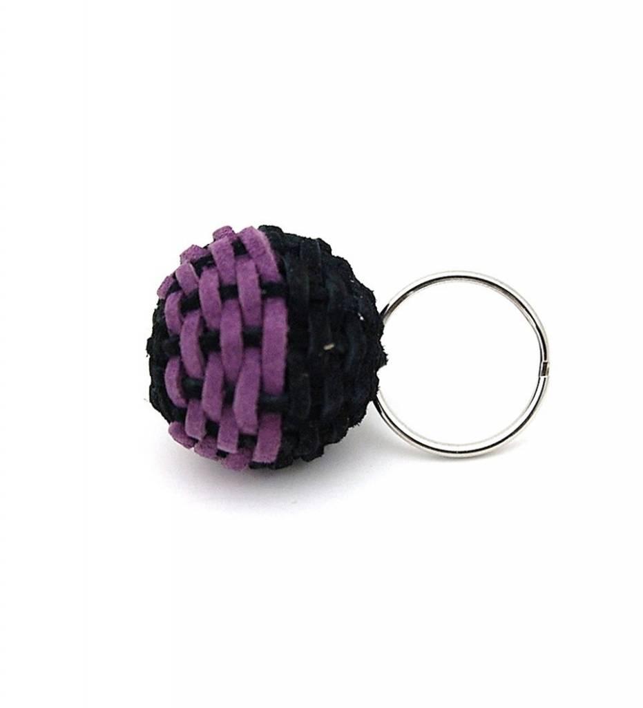 NHB Stickball Keychain PURPLE & BLACK Small