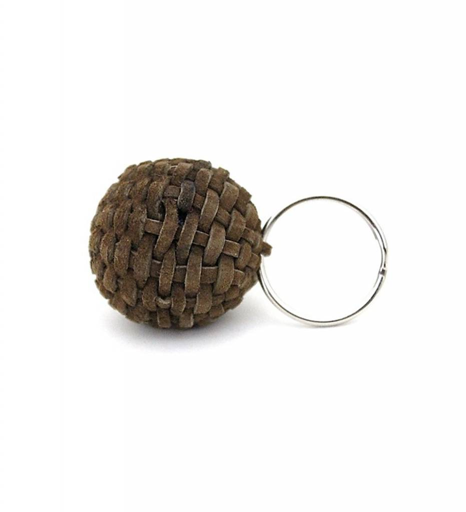 NHB Stickball Keychain BROWN Small