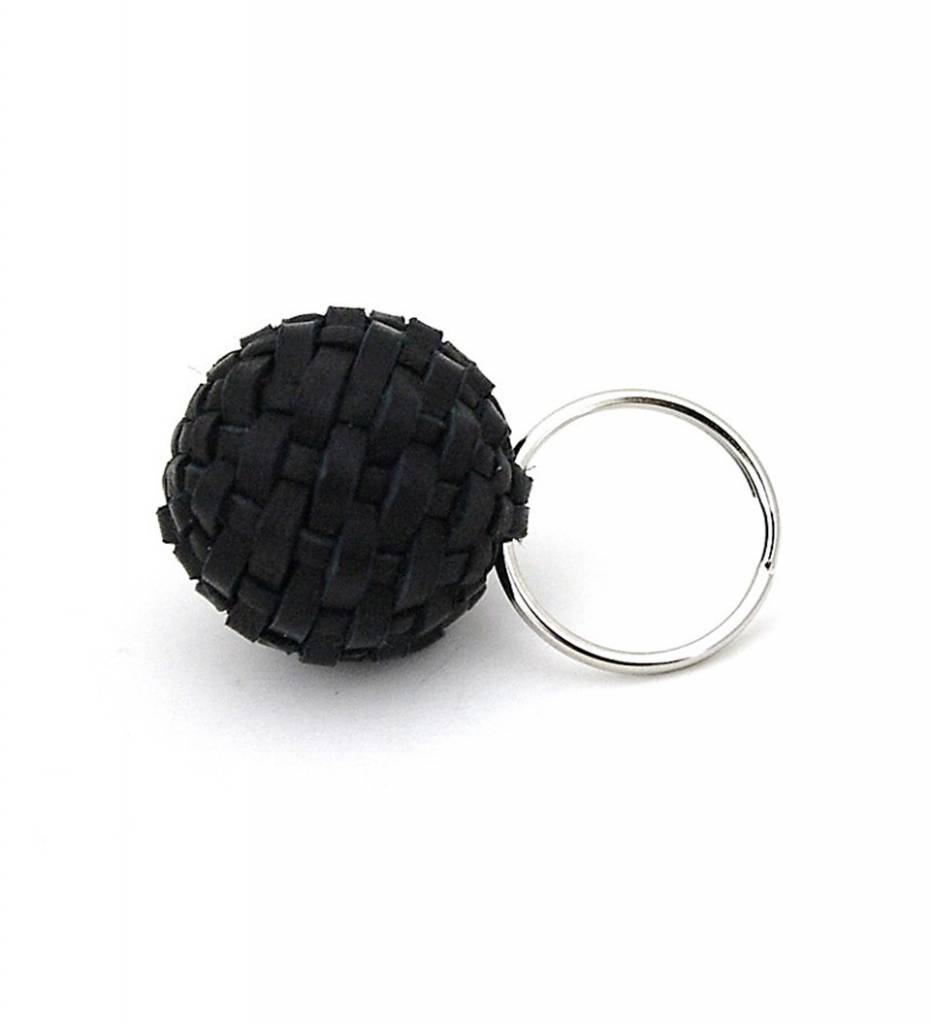 NHB Stickball Keychain BLACK Small