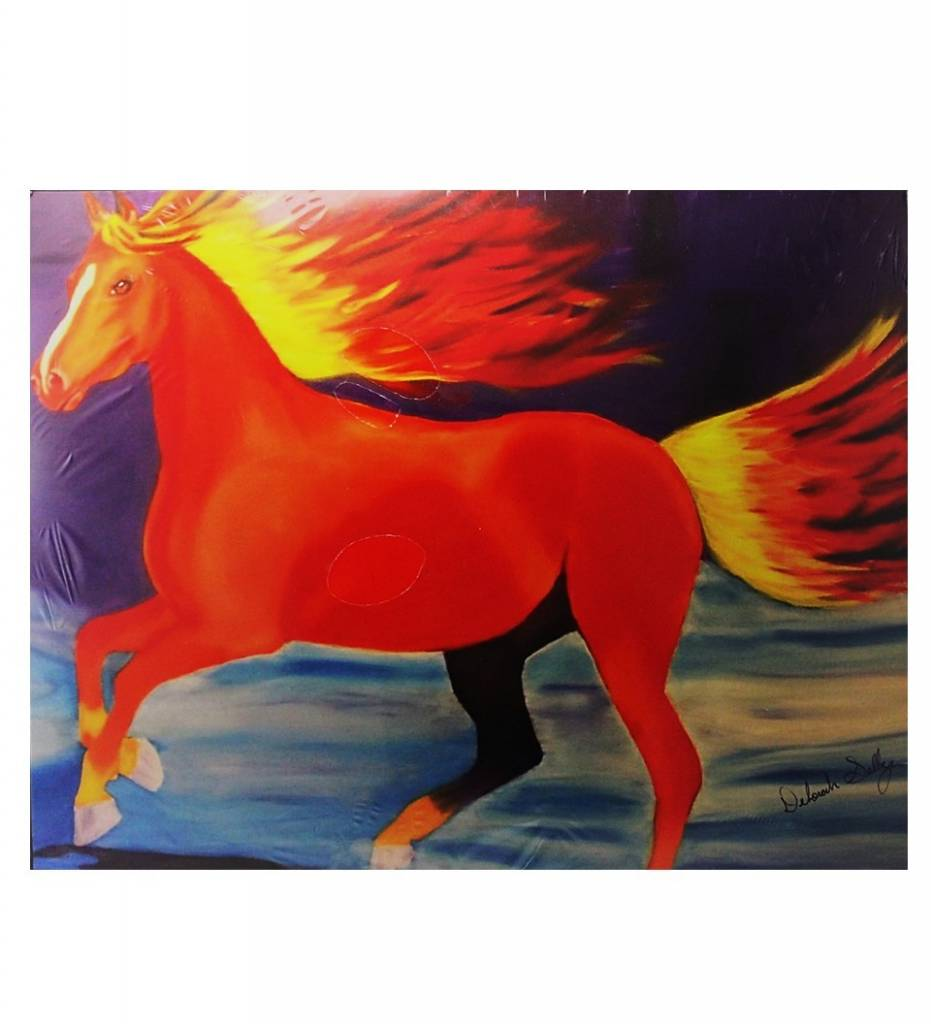 "*DS ""Fire Horse"" Print"