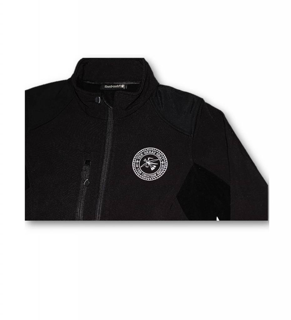Dunbrooke BLACK Soft Shell Jacket, MEN