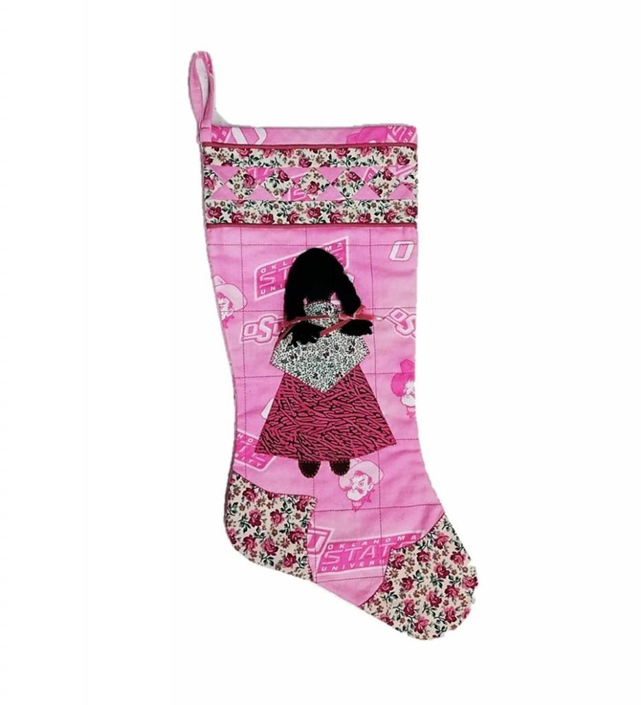 *TC Pink Cowboys with Pink Dress GIRL Stocking