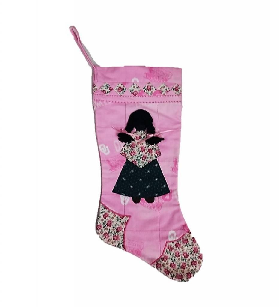 *TC Pink Sooner GIRL Stocking