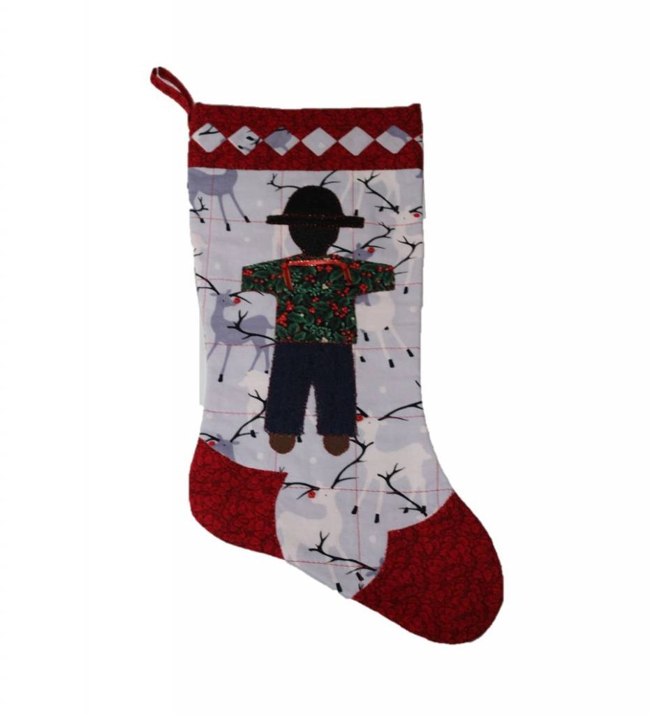 *TC Reindeer with BOY Stocking