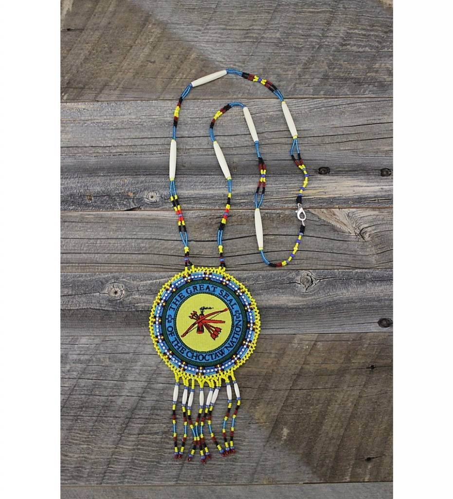 SL CNO Seal Medallion NECKLACE