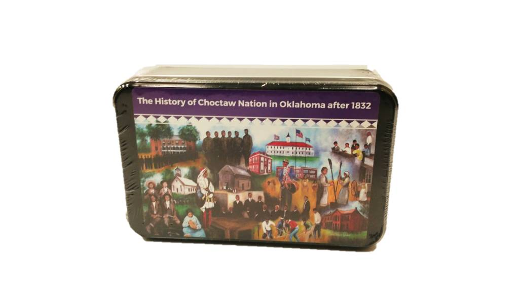 """""""History of the Choctaw Nation of Oklahoma"""" Puzzle"""