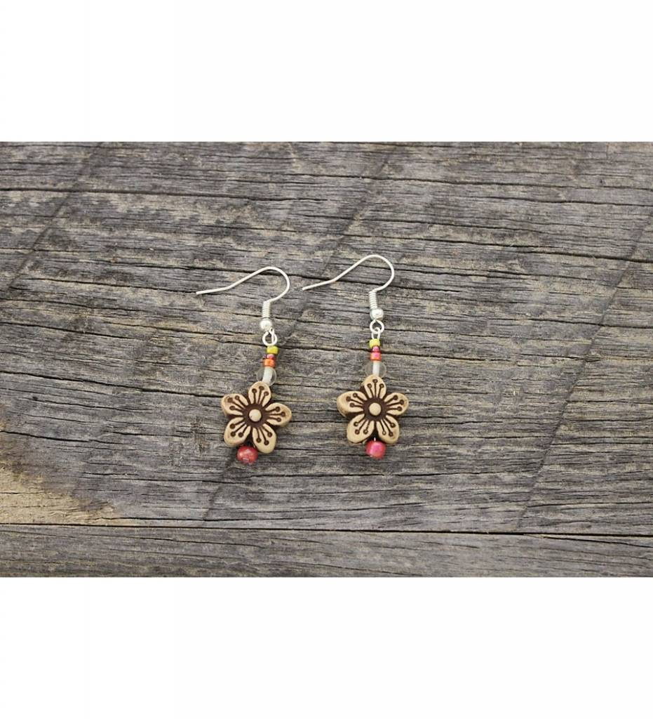*SC Beaded Earrings